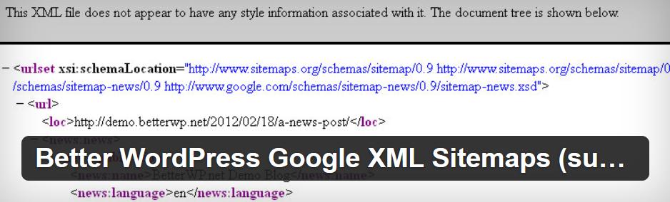 Image Post For Better WordPress Google XML Sitemaps