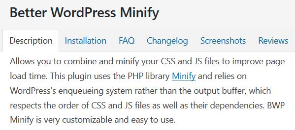 Image Post For Better WordPress Minify